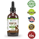 Purely Pets #1 Pet Full Spectrum Hemp Oil - Calming, Separation Anxiety & Stress Relief, Pain Relief, Natural Anti Inflammatory, Omega 3, Omega 6, Omega 9 Fatty Acids