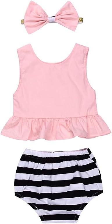 3pcs Toddler Baby Girls Polka Dot Sleeveless Tops and Shorts with Headband 0-3 Years Baby Grils Clothes Set