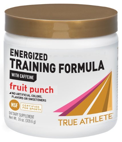 True Athlete Energized Training Formula - Fruit Punch 16 oz Powder by sallyashop (Image #1)