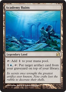 Magic: the Gathering - Academy Ruins - Modern Masters - Foil