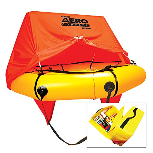 Revere 4 Person Aero Compact with Canopy & Standard Kit - Life Equipment Survival Raft