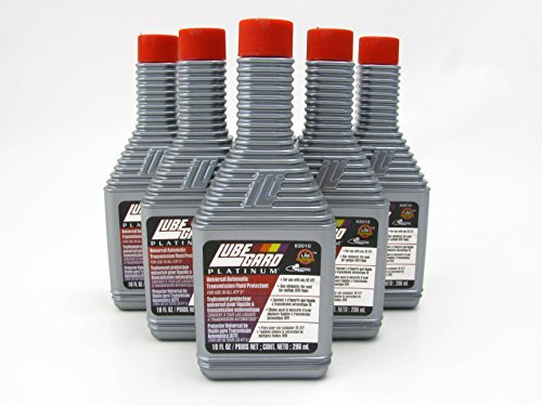 LUBEGARD Lube Gard Automatic Transmission Fluid ATF Synthetic Additive Platinum 6 pack by Lubegard