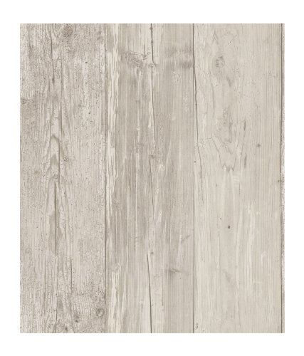 York Wallcoverings ZB3347SMP Wide Wooden Planks Memo Sample, Neutral, 8-Inch X 10-Inch