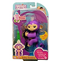 WowWee Fingerlings Baby Monkey - Mia - Purple ( Includes...