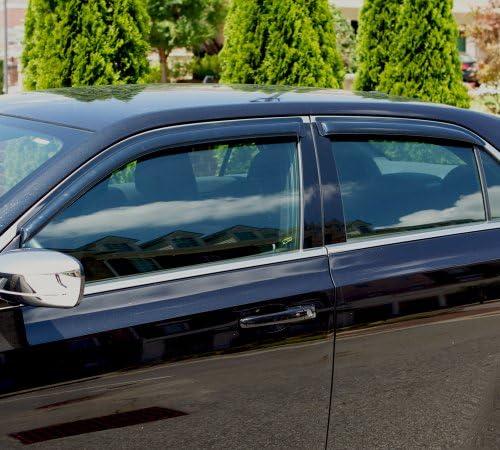 Window Visor Wind Guard Out-Channel 2pcs 1999 2000-2005 99-05 Pontiac Montana