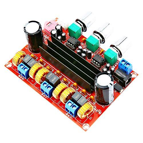 FBHDZVV TPA3116D2 Amplifier Board, 50WX2+100W 2.1 Channel Digital Power Audio Amplifier Board Subwoofer Speaker Stereo AMP Module Noise Cancelling Free Sound Adjustment Power Amplifier DC 12-24V
