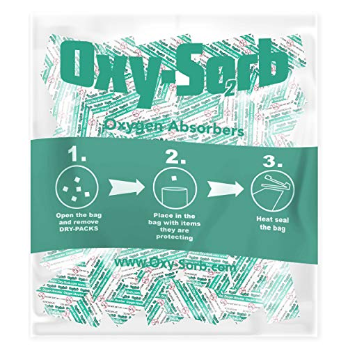 25 x 300cc PackFreshUSA OXYGEN ABSORBERS for Long Term Food Storage Preserve
