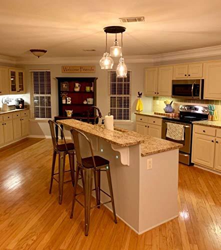 Claxy Ecopower Vintage Kitchen Linear Island Glass