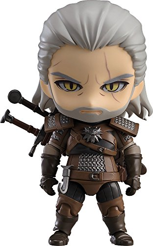 Good Smile The Witcher 3: Wild Hunt: Geralt Nendoroid Action Figure from Good Smile