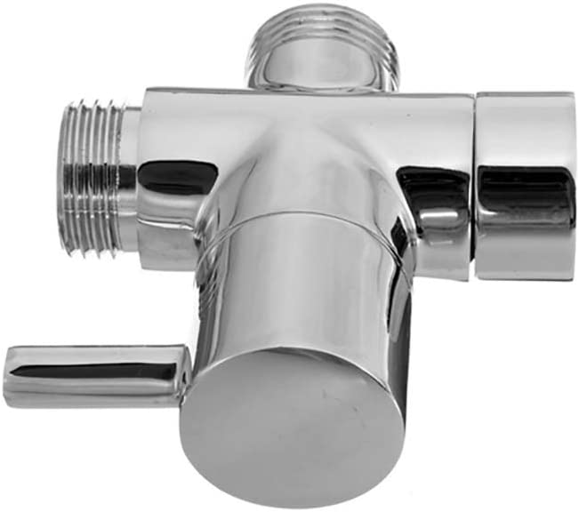 Brass Bidet Shower Head Diverter Valve Faucet Tap T-Adapter Splitter U3M9