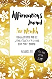 img - for Affirmations Journal For Wealth: Using Gratitude And The Law Of Attraction To Change Your Money Mindset book / textbook / text book
