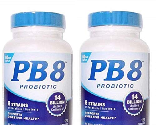 (Now Pb 8 Pro-biotic Acidophilus 120-count (Pack of 2))