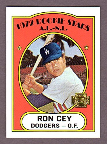 Ron Cey 1972 Topps Rookie Reprint *w/ Original Back* (From 2001 Topps Archives) (Dodgers)