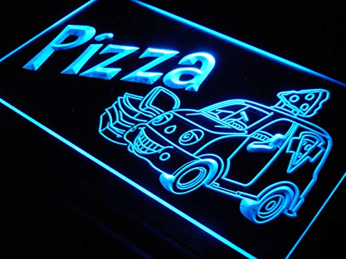 ADVPRO Cartel Luminoso s024-b Pizza To Go Delivery Service ...