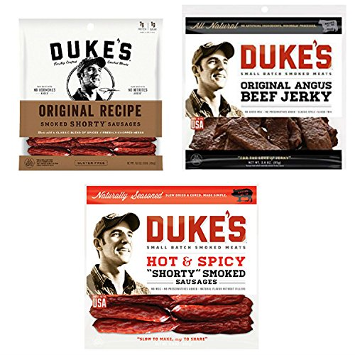 dukes-meats-bundle-featuring-a-bag-each-of-dukes-angus-beef-jerky-dukes-hot-spicy-sausages-and-dukes