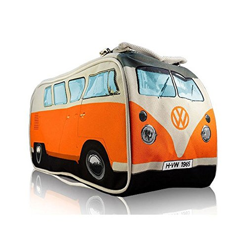 vw camper orange - 2