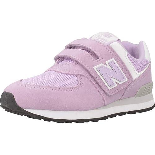 Zapatillas para niña, Color Morado, Marca NEW BALANCE, Modelo Zapatillas para Niña NEW BALANCE YV574 EM Morado: Amazon.es: Zapatos y complementos