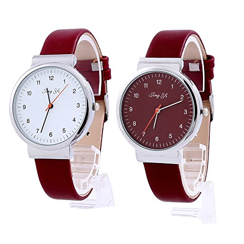 Women Quartz Watches COOKI Clearance Analog Ladies Watches Female Watches Leather Wrist Watch-Q93