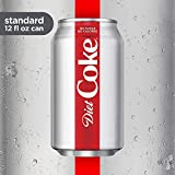 Diet Coke Soda Soft Drink, 12 Fl Oz, 36 Pack