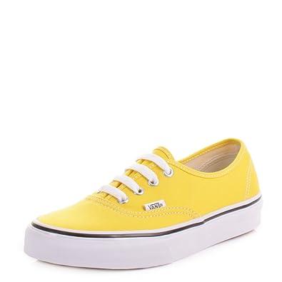vans damen sneaker gelb