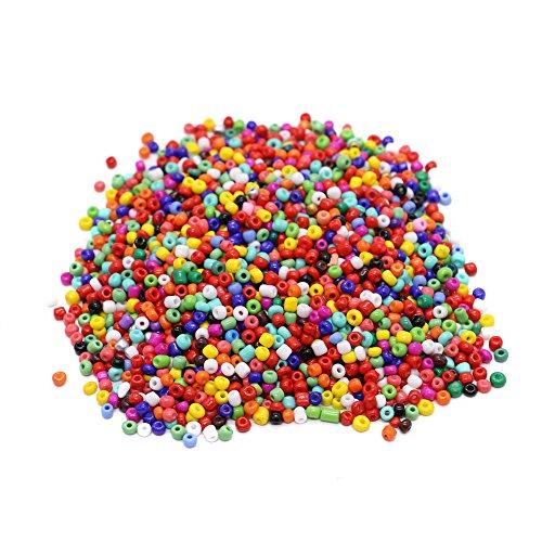 IDS 2000PCS Loose Beads Porcelain Beads for DIY Bracelets,Necklaces, Key Chains ,Multicolor