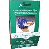 Magid Glove & Safety ST100DN Products Alcohol Free Respirator and PPE Cleaning Wipes ST100D (Pack of 100)