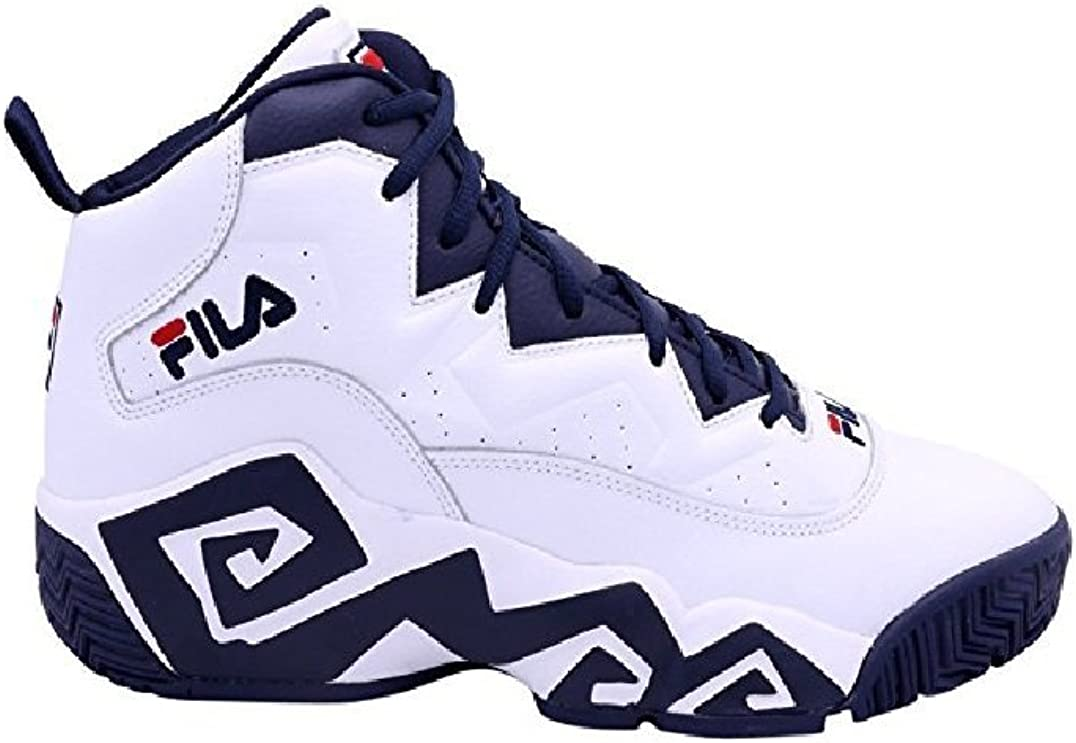 MB Heritage Sneaker White/Navy/Red