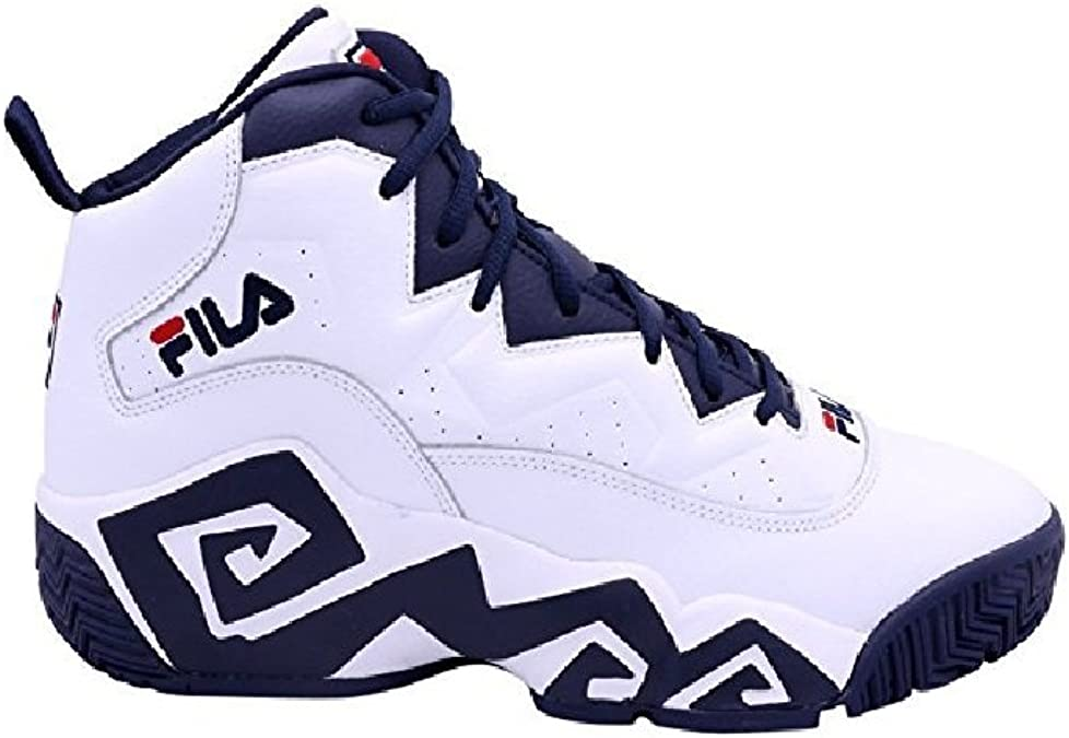 Fila Kid's MB Heritage Sneaker WhiteNavyRed
