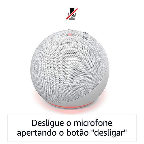 Echo Dot (4ª Geração): Smart Speaker com Alexa - Cor Branca