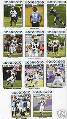 otball Cards - 5 Years Of Topps Complete Team Sets 2005,2006,2007, 2008 & 2009 - Includes Stars, Rookies & More - Individually Packaged! ()