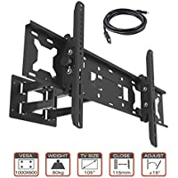 Heavy Duty TV Wall Mount Bracket for 55 to 85 Inches SONY SHARP SAMSUNG VIZEO
