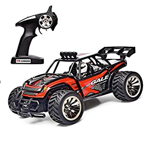 SANTSUN RC Car Off-Road Rock Vehicle Crawler Truck 1:16 2WD High Speed 2.4GHz 50M Electric Radio Remote Control Racing Cars Monster Truck with 4 More Lock Catch