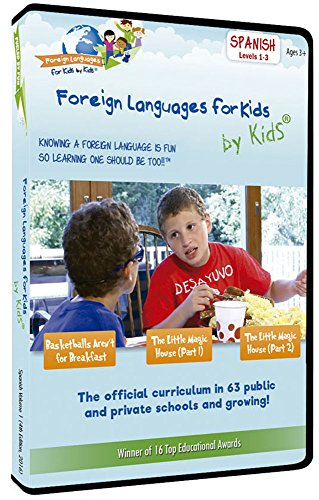 Foreign Languages for Kids by Kids: SPANISH, Volume 1