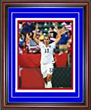 Alex Morgan Unsigned Framed Celebrating 8x10 Photo