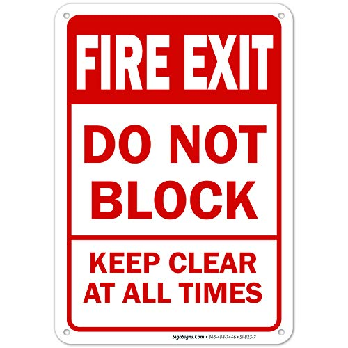 Fire Exit Sign Do