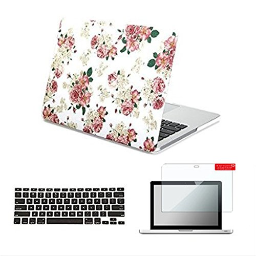 Macbook Air 13.3 inch Case, Se7enline Designer Art White ...