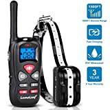 Dog Training Collar, Waterproof USB Rechargeable Dog Remote Trainer with Dual Vibration, Vibration and Beep Modes for Small,Medium,Large Breeds, 500Yard (1500ft) Range.