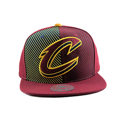 Hardwood Nba Hats - Cleveland Cavaliers Shorts Split Snapback Adjustable Hat NBA Hardwood Classic