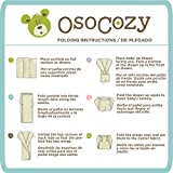 OsoCozy Indian Cotton Prefold Diapers - Soft and