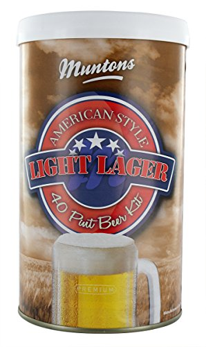 Muntons American Style Light Lager hopped can - Homebrew Lager