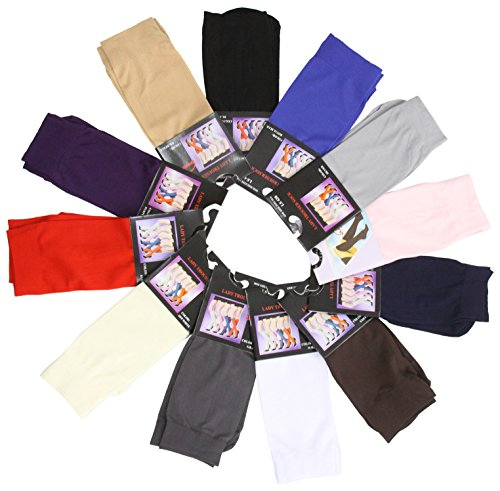 ToBeInStyle Womens Pack of 6 Knee High Trouser Professional Socks
