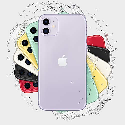 Apple iPhone 11 [128GB, Purple] + Carrier Subscription [Cricket Wireless]