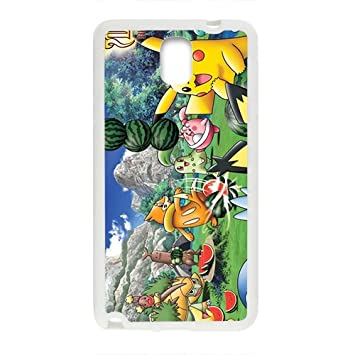 Pikachu Pocket Monster Pokemon White samsung Galaxy Note3 ...