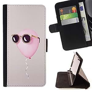 Momo Phone Case / Flip Funda de Cuero Case Cover - Summer Sun Gris cool - Apple Iphone 4 / 4S