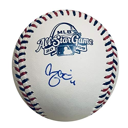 2009 All Star Baseball - Yadier Molina Autographed St Louis Cardinals 2009 All Star Game Signed Baseball JSA COA With UV Protected Display Case