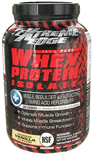 BlueBonnet Extreme Edge Whey Protein Isolate Powder, Vanilla Flavor, 2.2 Pounds - Edge Protein