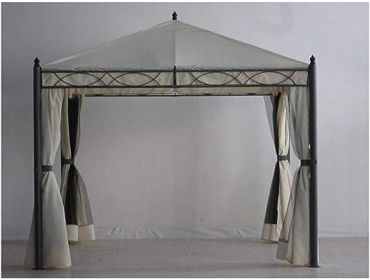 Amicasa. Carpa Hierro 3 x 3 MT. Oregon PVC Cortinas + mosquiteras: Amazon.es: Jardín