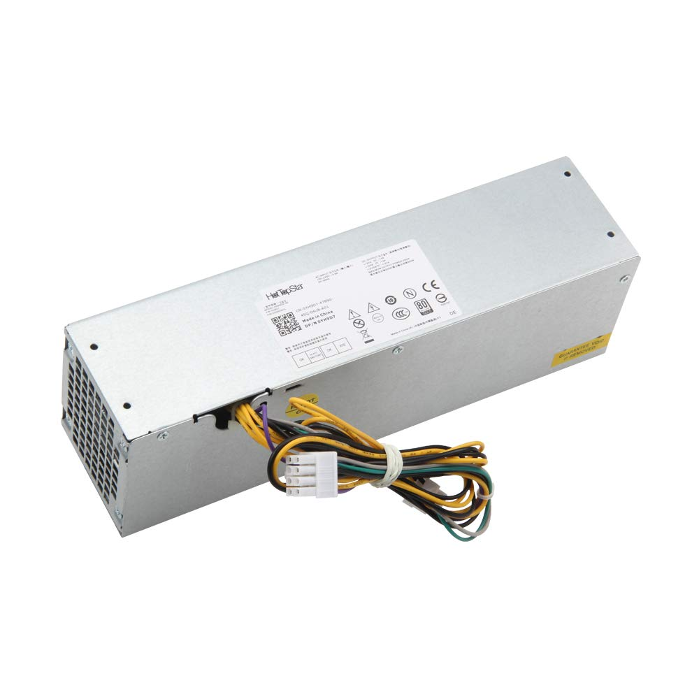 HotTopStar 255W H255ES-00 HU255AS-00 Desktop Power Supply Compatible with Dell Optiplex 3020 7020 9020 Precision T1700 Small Form Factor SFF Systems Part Number: YH9D7 FN3MN FP16X T4GWM NT1XP V9MVK