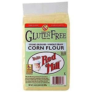 Amazon.com : Bob's Red Mill Gluten Free Corn Flour - 24 Oz