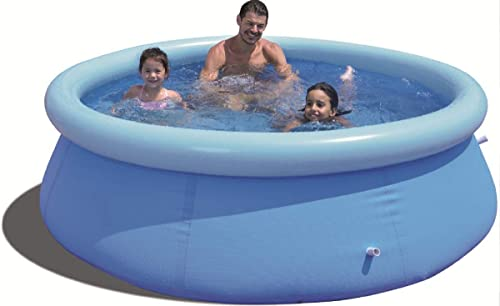 Qicaso 10ft x 30in Inflatable Swimming Pool Easy Set Family Top Ring Pools